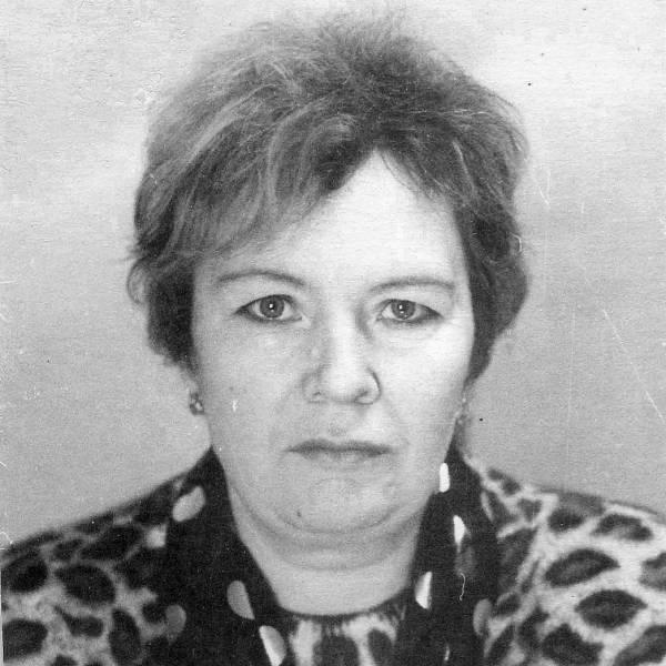 Вера Ивановна Бобровская