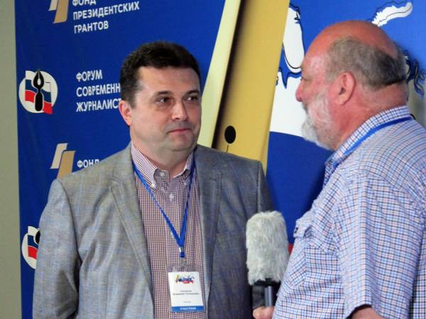 Владимир Геннадиевич Соловьев - кандидат в председатели Союза журналистов России