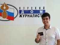 Дмитрий Амелин  выбрал профессию военного журналиста