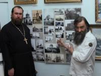Олег Радин  и отец Олег